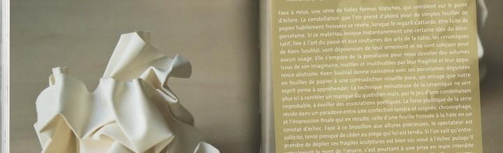 Catalogue de la 17ème Biennale internationale de céramique, Couvent des Cordeliers Châteauroux du 8 juin au 1er sept 2013