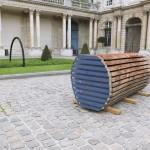 vue de l'installation au Musée des Archives Nationales dans le cadre du Hors les Murs de la YIA#05